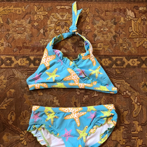 63ee5262ec550 Garnet Hill Swim   Starfish 2piece Suit New   Poshmark